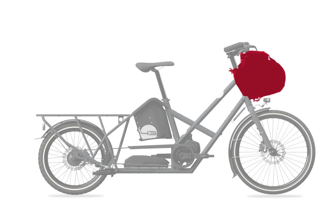 Brompton (TM) Borough L in Dark Grey